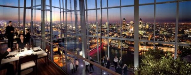 Oblix Restaurant at The Shard London
